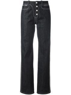 прямые джинсы на пуговицах Paco Rabanne