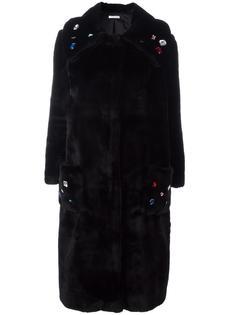 пальто 'Paprika' из искусственного меха Vivetta