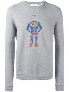 толстовка с вышивкой супермена Jimi Roos