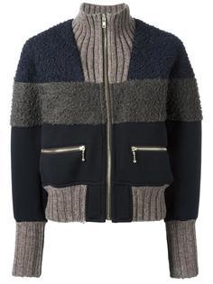 zipped knit jacket  Kolor