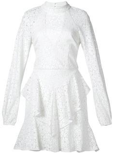 платье мини 'Sistine' с оборками Rebecca Vallance