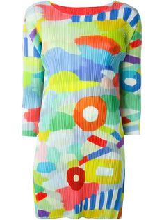 платье с принтом  Pleats Please By Issey Miyake