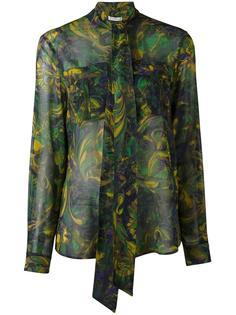 рубашка с бантом Versace Collection