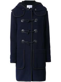 пальто с капюшоном Carven