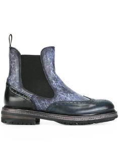 ботинки челси Santoni