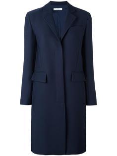 пальто с потайной застежкой Versace