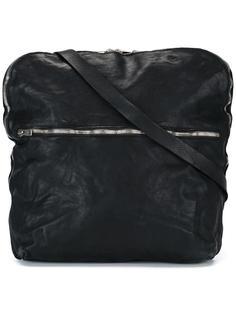 top zip messenger bag Guidi