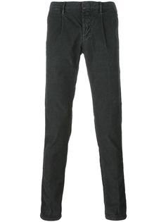 бархатные брюки  Incotex