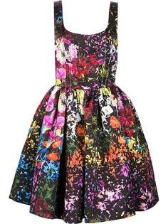 floral print flared dress Jonathan Cohen