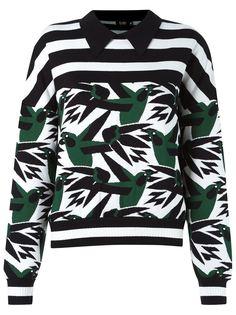 pattern knit blouse Gig