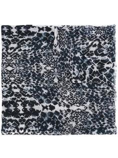кашемировый платок 'Marilyn' с леопардовым узором Lily And Lionel