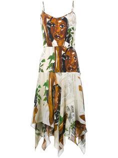 Diana print slip dress Tata Naka
