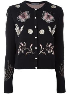 кардиган 'Obsession' Alexander McQueen
