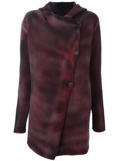 асимметричное пальто-кардиган Avant Toi