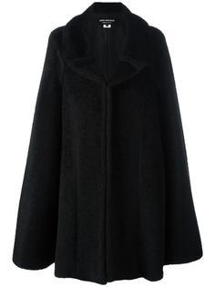 пальто в стиле накидки Junya Watanabe Comme Des Garçons