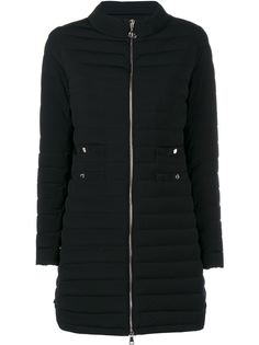 длинная стеганая куртка Moncler