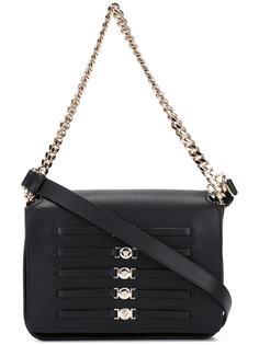 сумка через плечо с ремешками 'Medusa' Versace
