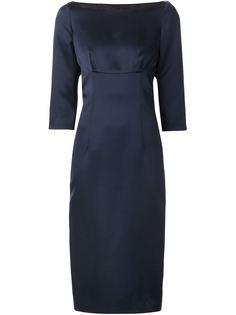 платье с вырезом-лодочкой Marc Jacobs