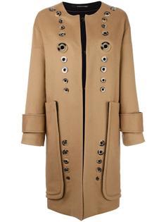 пальто с люверсами Maurizio Pecoraro