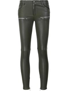 moto leather pants  Anine Bing