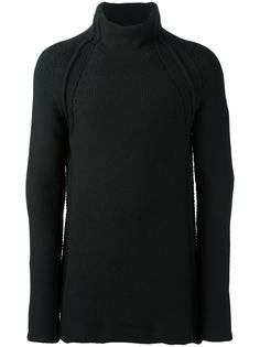 chunky roll neck jumper Forme D'expression