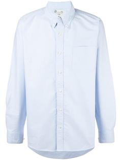 рубашка с нашивками на рукавах Visvim