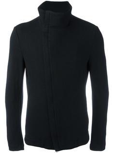 asymmetric zip jacket Forme D'expression