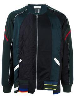 спортивная куртка с панельным дизайном Facetasm
