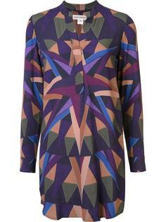 geometric print dress Mara Hoffman