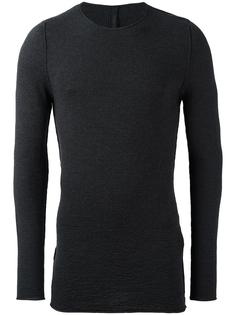 textured crew neck jumper Forme D'expression