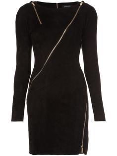 longsleeved allover zipper dress Jitrois