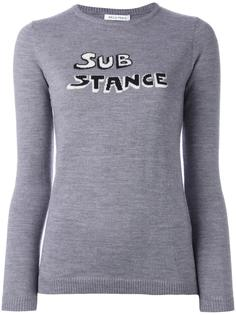 'Substance' intarsia jumper Bella Freud