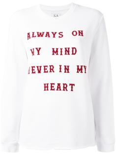 футболка с длинными рукавами Zoe Karssen
