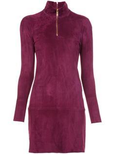 longsleeved zipped neck dress Jitrois