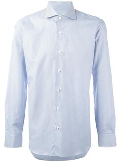 pinstriped button down shirt Barba