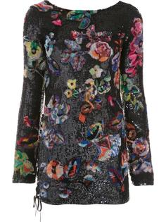 'Flower Sequin' dress Anthony Vaccarello