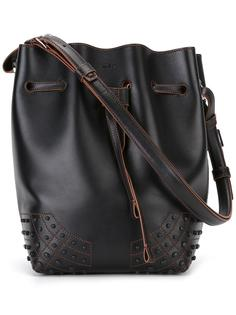 сумка на плечо со сборкой Tod's