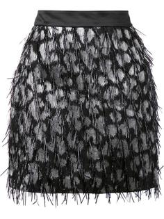 embellished straight skirt Milly