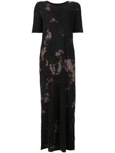 blur print dress Raquel Allegra