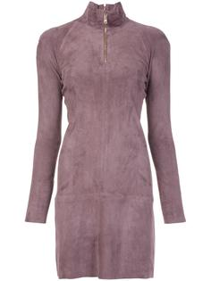 longsleeved zipped neck dress Jitrois