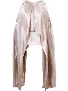 asymmetric laterals blouse Kaufmanfranco
