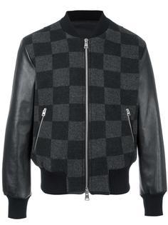 университетская куртка в клетку Ami Alexandre Mattiussi