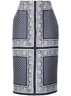 юбка на пуговицах спереди Altuzarra