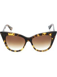 """солнцезащитные очки """"кошачий глаз"""" Dita Eyewear"""