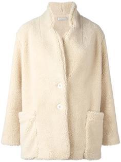 однобортное пальто Mes Demoiselles