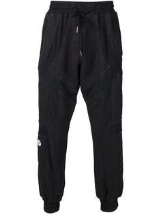 спортивные брюки с панельным дизайном KTZ