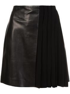 pleated detailing skirt Mugler