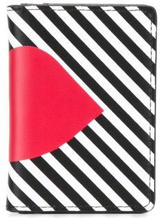 'Stripe Lip' cardholder Lulu Guinness