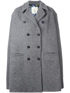 double-breasted oversized coat Miahatami
