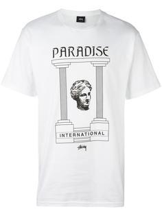 футболка 'Paradise' Stussy